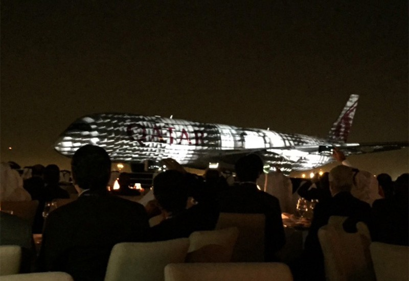 Lancement du premier A350 par Qatar Airways