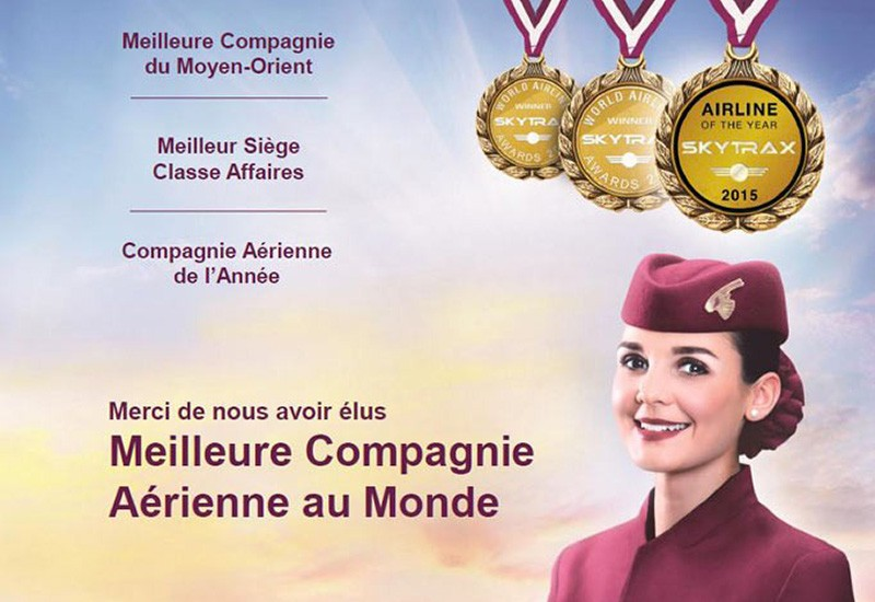 QATAR AIRWAYS – 3 YEARS OF BEING ELECTED THE BEST AIRLINE IN THE WORLD WITH SO JENNIE PARIS ON BOARD